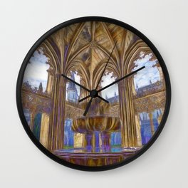 Batalha gothic Wall Clock