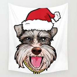 Miniature Schnauzer Wall Tapestry