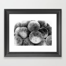 Negative Light No.1 Framed Art Print