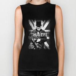 thug life Biker Tank