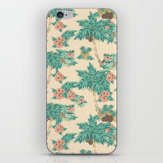 Aloha peach iPhone Skin