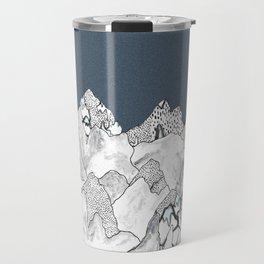 At night in the mountains Travel Mug