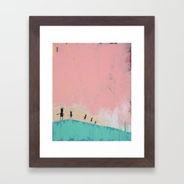 Sunshine Dance 2 Framed Art Print