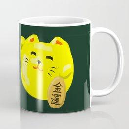Neko Cat Yellow Coffee Mug