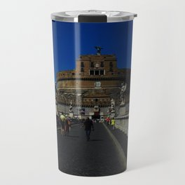 Castel Sant'Angelo, Rome, Italy Travel Mug