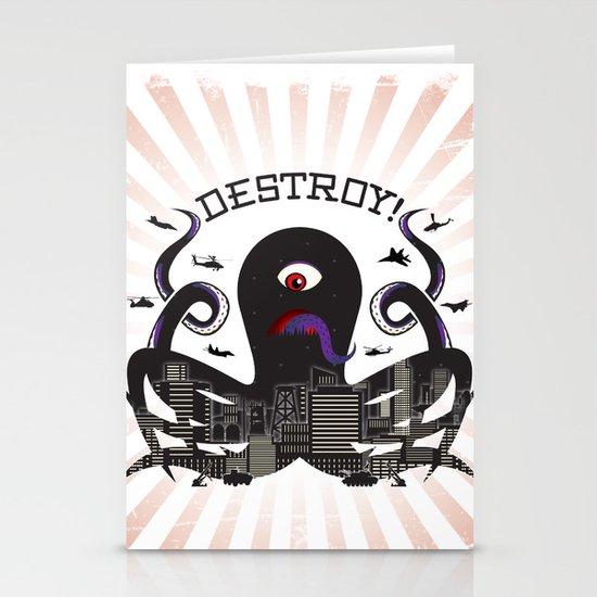DESTROY! Stationery Cards