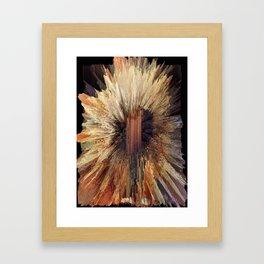 Crystal Forest Framed Art Print
