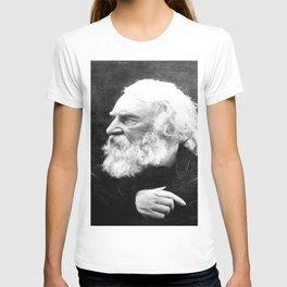 Julia Margaret Cameron - Portrait of Longfellow T-shirt