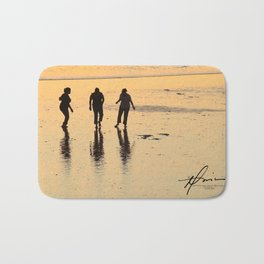 Beach Dance Bath Mat