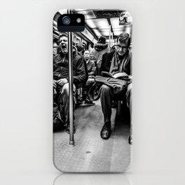 Parisian Commuters iPhone Case