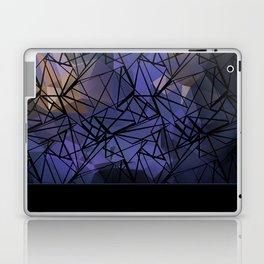 Polygon mesh . Blue . Laptop & iPad Skin