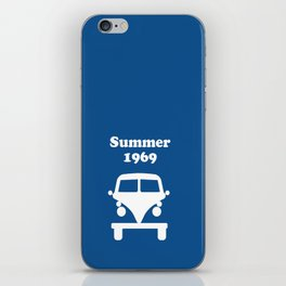 Summer 1969 - blue iPhone Skin