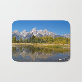 The Snake River and the Tetons Bath Mat