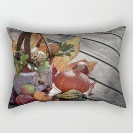 Autumn Decor Rectangular Pillow