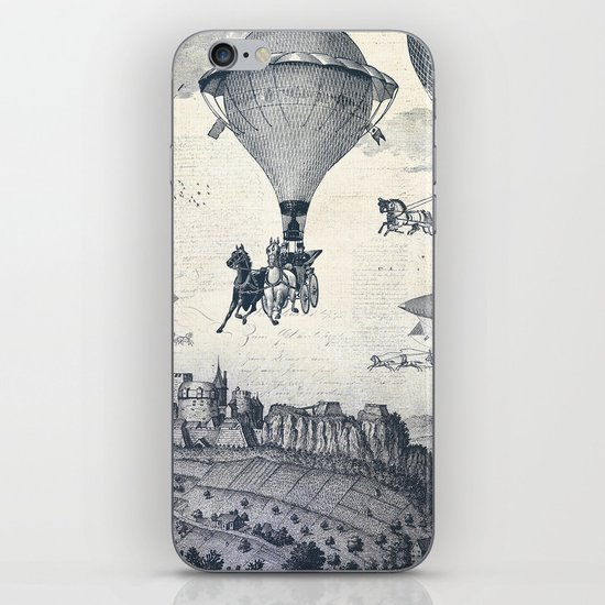 Carrilloons over the City iPhone & iPod Skin