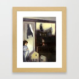 How to Get to Vireo Street Framed Art Print