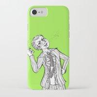 dangan ronpa iPhone & iPod Cases featuring kuzuryuu by Mottinthepot