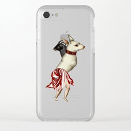 dog dancer Clear iPhone Case