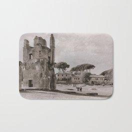 Roman Ruins Bath Mat