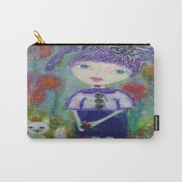 Viola & Lipstick - Whimsies of Light Children Series Carry-All Pouch
