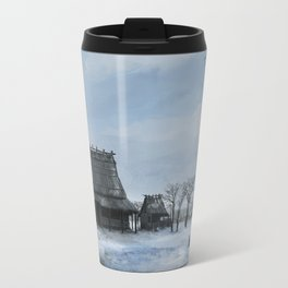 Japanese Lost Village Travel Mug