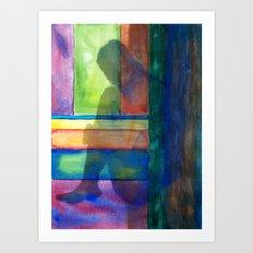 Grounded III Art Print