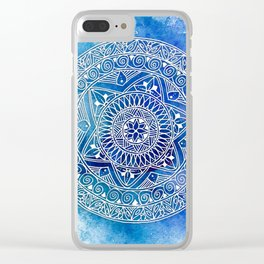 Tangle Rings Clear iPhone Case