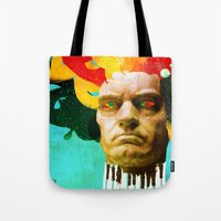 beethoven Tote Bags featuring Beethoven by Ed Pires