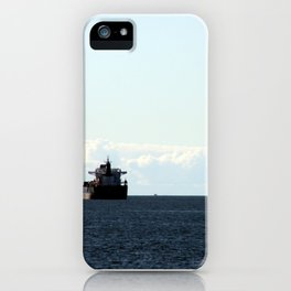 leaving port iPhone Case