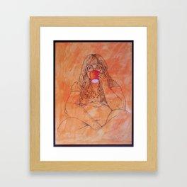 La Tasse Framed Art Print
