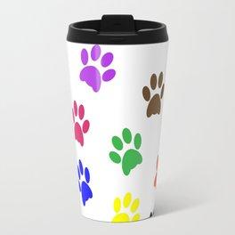 Paw print design Travel Mug