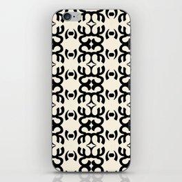 Namaste Symbol Abstract Pattern iPhone Skin