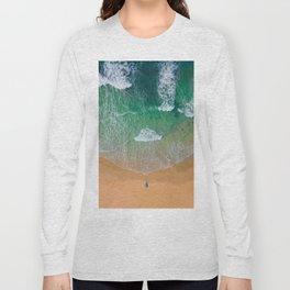 Drone Beach Long Sleeve T-shirt