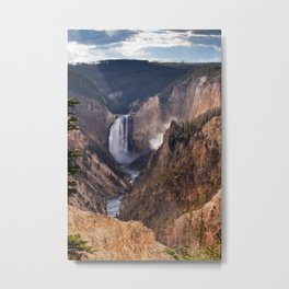 Yellowstone Grand Canyon Metal Print