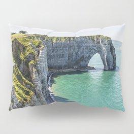 The cliffs of Etretat Pillow Sham