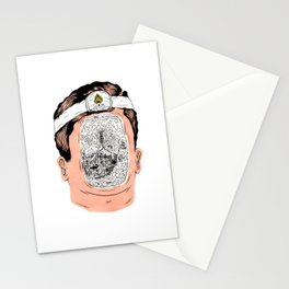 Journey to the center of the earth Stationery Cards