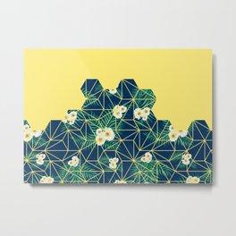Tropical Tiles #society6 #decor #buyart Metal Print