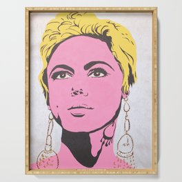 Factory Girl Serving Tray