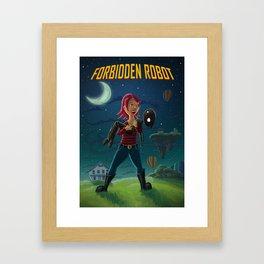 Forbidden Robot Framed Art Print