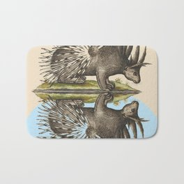 Who Are You Calling Porky? Bath Mat
