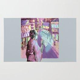 Geisha Cyberpunk Rug