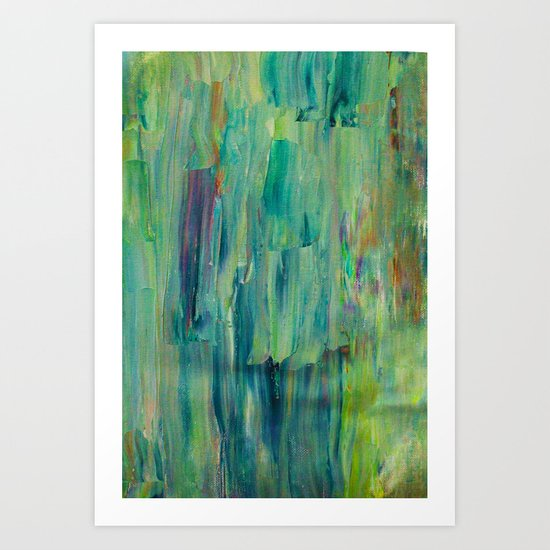 Abstract Painting 30 Art Print
