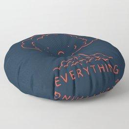 Overthink Floor Pillow
