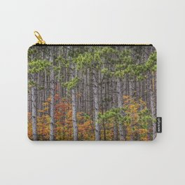 Small Saplings among a Grove of Pine Trees Carry-All Pouch