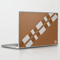 chewbacca Laptop & iPad Skins featuring Chewbacca by VineDesign