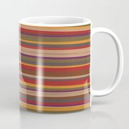 Fourth Doctor Scarf Coffee Mug