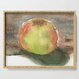 Watercolor Sketchbook: Honeycrisp Apple no.2 Serving Tray