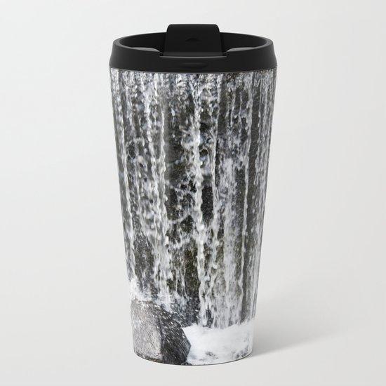 Waterfall II Metal Travel Mug