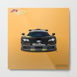 McLaren F1 GTR #02R - 1995 Suzuka 1000 Kilometres - Front View Metal Print