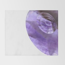 Mystical Powers of Amethyst #society6 Throw Blanket